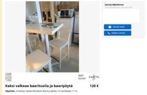 Ikean pöytä