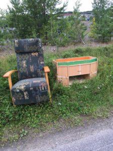 Huonekalut luonnossa
